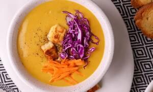H συνταγή της ημέρας: Σούπα από κάρυ