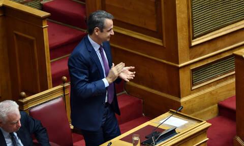Μητσοτάκης: Η εκλογή της Σακελλαροπούλου συμβολίζει τη μετάβαση στη νέα εποχή
