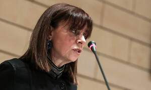 Ekaterini Sakellaropoulou first female elected to be president of the Hellenic Republic