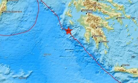 Σεισμός νοτιοδυτικά της Ζακύνθυ (pics)