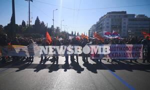 Σύνταγμα ΤΩΡΑ: Συγκέντρωση διαμαρτυρίας φοιτητών και εκπαιδευτικών - Ποιοι δρόμοι είναι κλειστοί