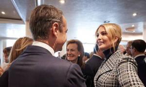 Μητσοτάκης: Τετ-α-τετ με την Ιβάνκα Τραμπ στο Νταβός