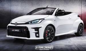 Αυτό το ανοιχτό Toyota Yaris δεν θα υπάρξει ποτέ!