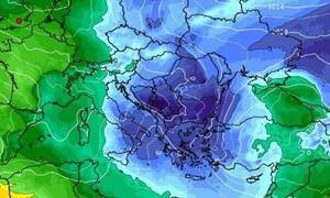 Καιρός: Αρκετά ψυχρή η μακροπρόθεσμη τάση για το πρώτο 8ήμερο του Φλεβάρη (videos)