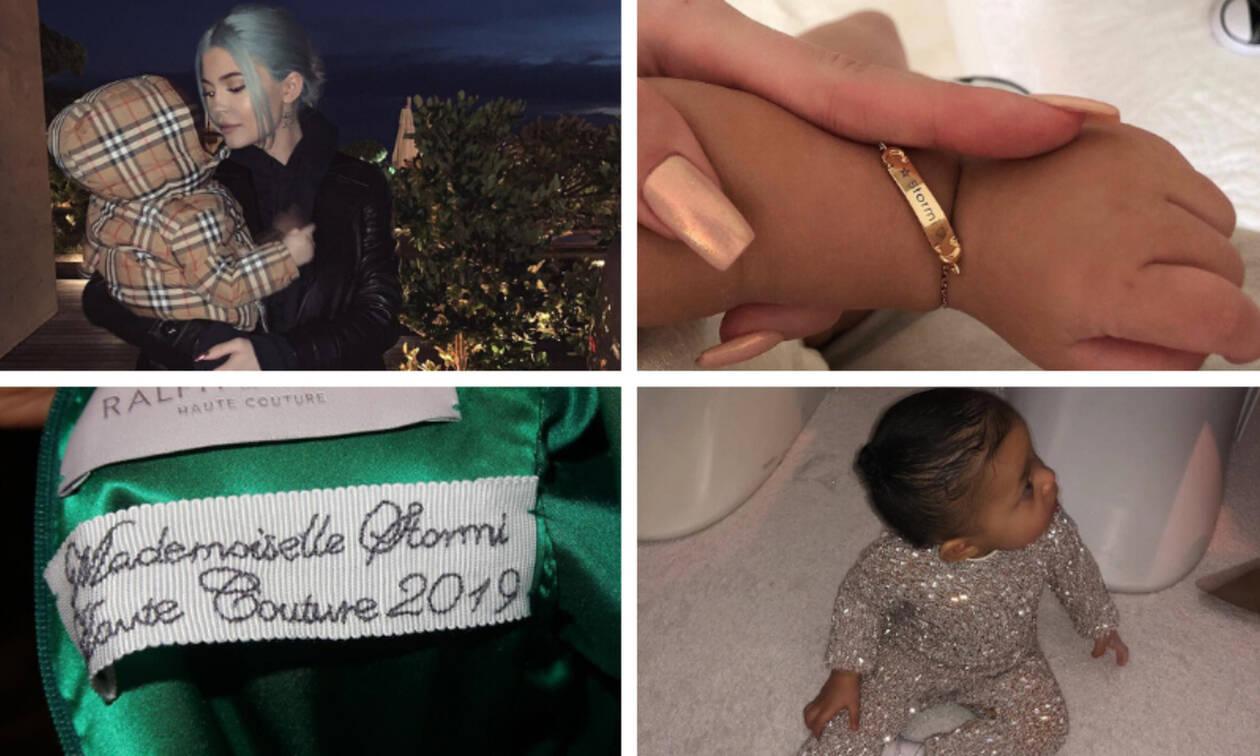 Τα πιο ακριβά πράγματα που αγόρασε η Kylie Jenner για την Stormi (vid)