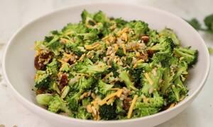 H συνταγή της ημέρας: Σαλάτα με μπρόκολο