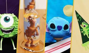 Disney χειροτεχνίες - Πώς θα τις φτιάξετε (vid)