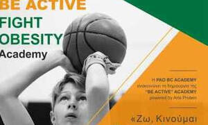 PAO BC Academy: «Ζω, Κινούμαι, Τρέφομαι Σωστά»
