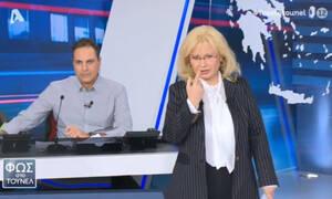 Φως στο τούνελ:  Το απειλητικό μήνυμα στην Αγγελική Νικολούλη