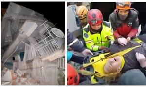 Σεισμός στην Τουρκία: Έμεινε στα χαλάσματα πάνω από 10 ώρες – Η στιγμή του απεγκλωβισμού