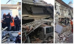 Σεισμός στην Τουρκία: Η συγκλονιστική στιγμή που διασώστρια μιλά με εγκλωβισμένη - «Μην κοιμηθείς»
