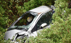 Τροχαίο δυστύχημα με έναν νεκρό στη Χαλκίδα