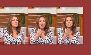 Η Ναταλία Γερμανού έκανε την γκάφα! Η on air κατά λάθος αναφορά στην ηλικία της (Video)