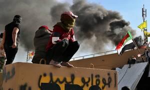 Ρουκέτες έπεσαν κοντά στην αμερικανική πρεσβεία στη Βαγδάτη