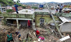 Βραζιλία: Τουλάχιστον 37 νεκροί από σφοδρή καταιγίδα