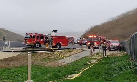 Κόμπι Μπράιαντ: Οι πρώτες εικόνες από το δυστύχημα με το ελικόπτερο (pics)