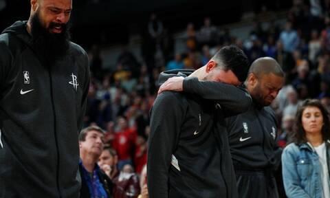 Κόμπι Μπράιαντ: Ανατριχίλα - Έκλαιγαν με λυγμούς οι παίκτες του NBA (vid)