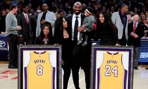 Κόμπι Μπράιαντ: Ένας τεράστιος αθλητής και ένας στοργικός οικογενειάρχης (pics)