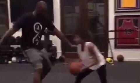 Κόμπι Μπράιαντ: Το συγκλονιστικό βίντεο που παίζει μπάσκετ με την κόρη του Τζιάννα (vid)