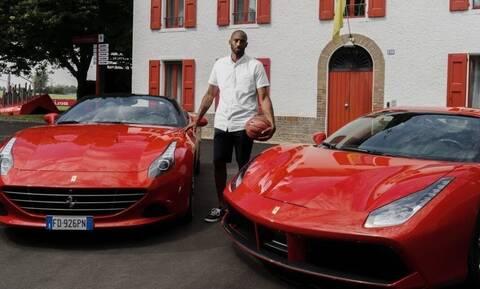Κόμπι Μπράιαντ: Φανατικός χρήστης ελικοπτέρου και λάτρης των Ferrari και Lamborghini