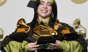 Grammys 2020: Η Billie Eilish έκανε ένα απίστευτο ρεκόρ και το γιόρτασε με το καλύτερο live ever