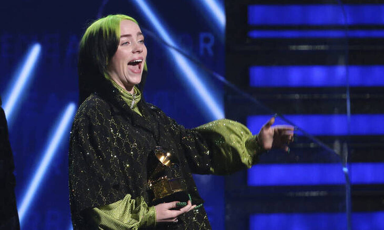 Grammy 2020: Σάρωσε η 18χρονη Μπίλι Άιλις - Πήρε όλα τα βραβεία
