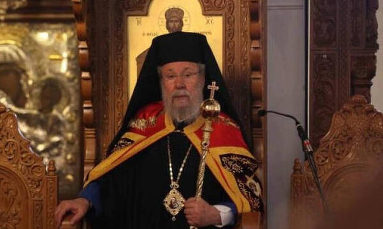 Στις ΗΠΑ για χειρουργική επέμβαση ο Αρχιεπίσκοπος Κύπρου