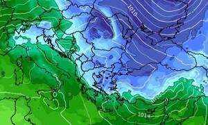 Καιρός: Καρέ - καρέ η εξέλιξη των καιρικών συνθηκών. Πού θα χιονίσει την Πέμπτη... (videos)