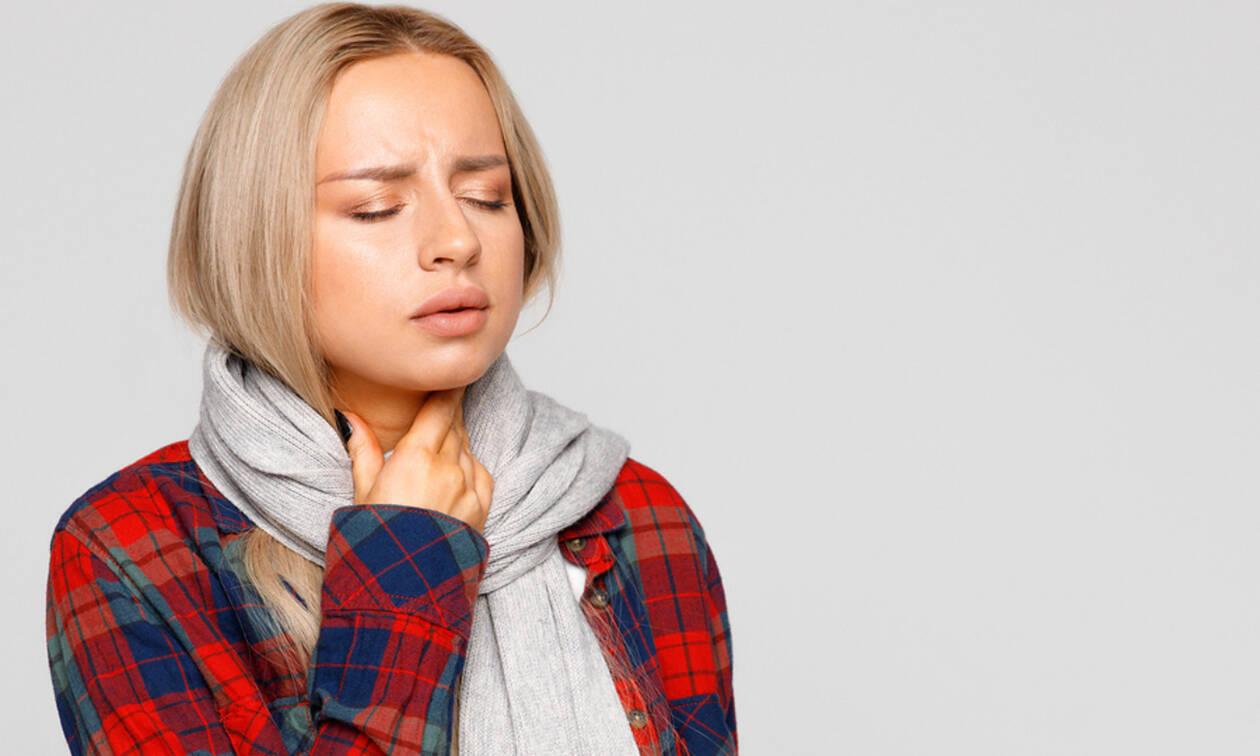 Πονόλαιμος: 6 «σωτήριες» λύσεις για άμεση ανακούφιση (εικόνες)
