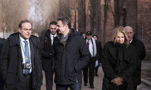 Μητσοτάκης στο Άουσβιτς: Ποτέ η ανθρωπότητα να μην ξαναζήσει μια τέτοια τραγωδία