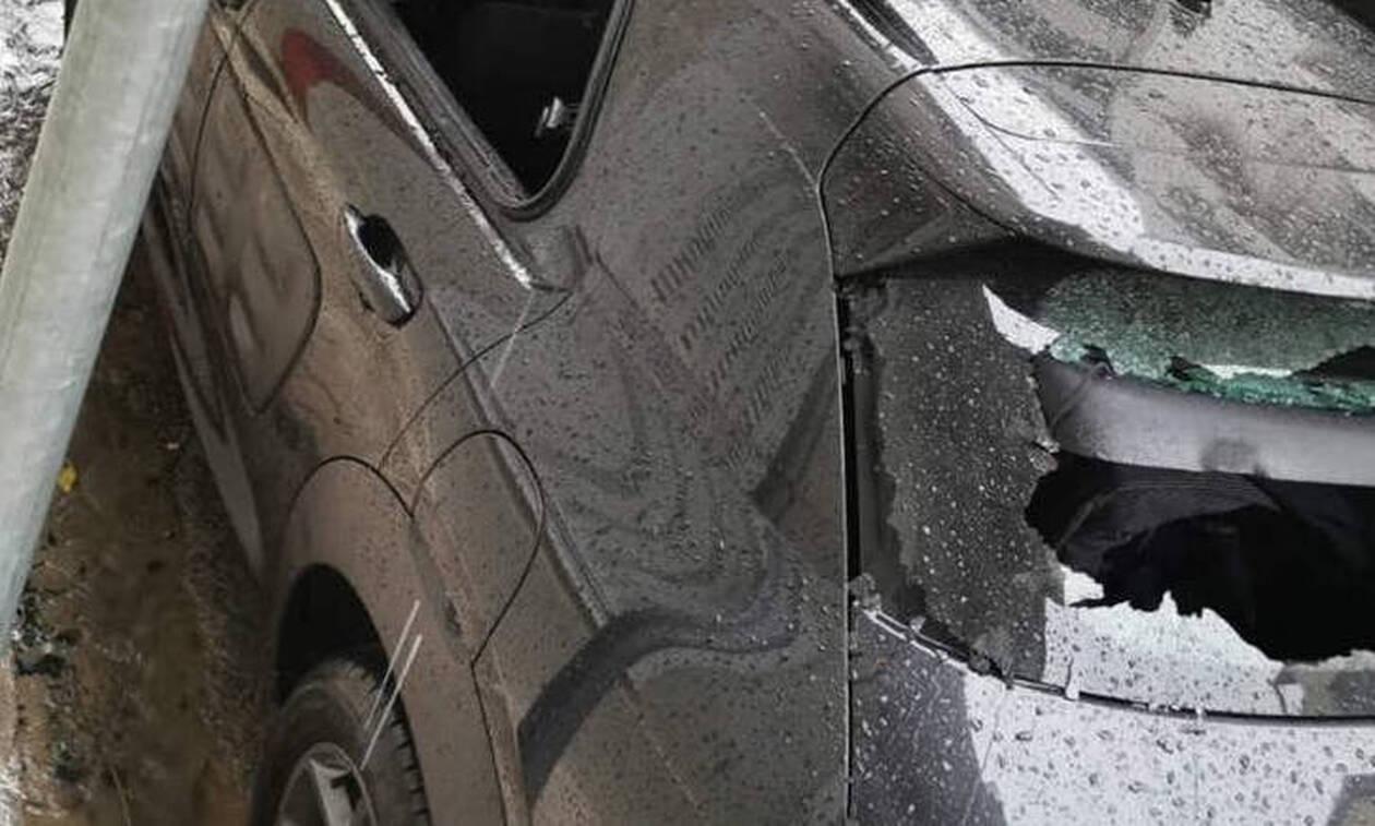 Στόχος και πάλι ο Φλαμπουράρης: Έσπασαν το αυτοκίνητό του (pics)