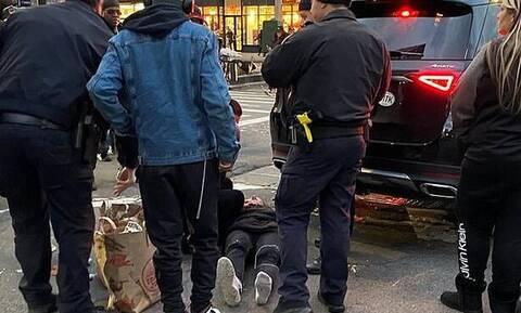 Αυτοκίνητο πλάκωσε γυναίκα - Έτσι την απεγκλώβισαν (vid)