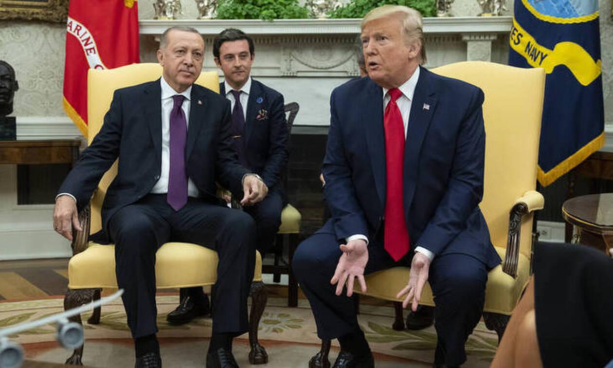 Τραμπ σε Ερντογάν: Λύστε τις διαφορές σας με την Ελλάδα στην Ανατολική Μεσόγειο