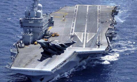 Άξονας Ελλάδας–Γαλλίας: Στην Ελλάδα το «Σαρλ Ντε Γκωλ» – Ανοίγει... πυρ μαζί με τον ελληνικό στόλο