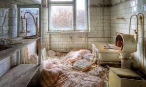 Ανατριχίλα στο Τσέρνομπιλ: Δείτε πλάνα μέσα από το νοσοκομείο της πόλης!