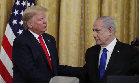 Ο Τραμπ προτείνει παλαιστινιακό κράτος με πρωτεύουσα στην ανατολική Ιερουσαλήμ