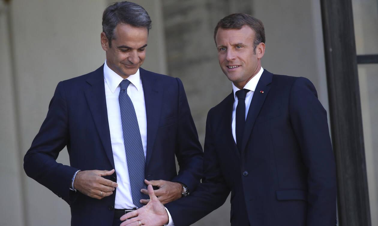 Ο Μητσοτάκης βλέπει Μακρόν: Η στρατιωτική στήριξη της Γαλλίας και ο… Ερντογάν στο «μενού»