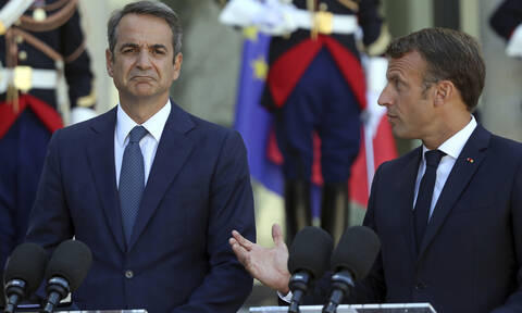 «Συμμαχία» Γαλλίας-Ελλάδας: Κοινή καταδίκη των τουρκικών προκλήσεων – Μακρόν: Στηρίζουμε την Αθήνα
