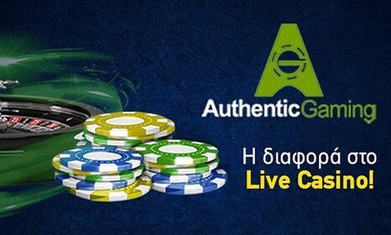 H Authentic σε ζωντανή μετάδοση στο live casino της Betshop.gr