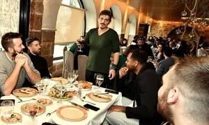 Με Δημήτρη Γιαννακόπουλο κι ευχές για επιτυχημένο 2020 η πίτα του Παναθηναϊκού