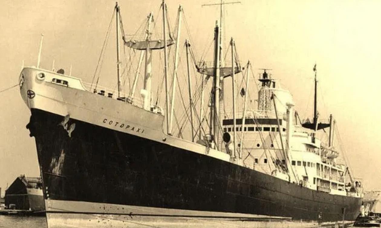 Πλοίο «φάντασμα» βρέθηκε 100 χρόνια μετά
