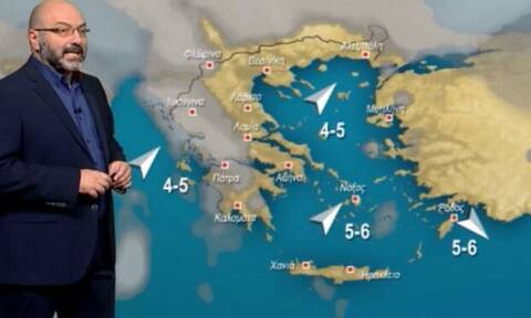 Καιρός: Πού είναι το κρύο; Κάτι αλλάζει από τις 6-7 Φλεβάρη. Η ανάλυση του Σάκη Αρναούτογλου!