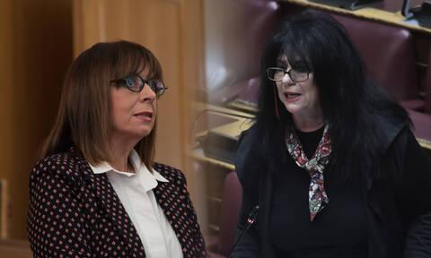 Η βουλευτής του ΣΥΡΙΖΑ πανηγυρίζει για την Σακελλαροπούλου γιατί είναι... γειτόνισσες