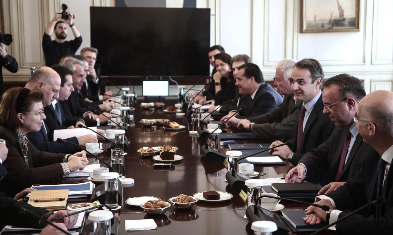 Ολοκληρώθηκε το υπουργικό συμβούλιο στο Μαξίμου: Τι είπε ο Μητσοτάκης στους υπουργούς