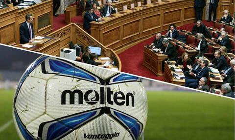 5+1 ατάκες που «έγραψαν» στη Βουλή για Grexit και διακοπή της Super League