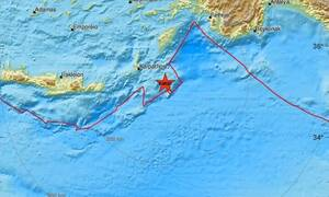 4.2 Richter earthquake near Karpathos