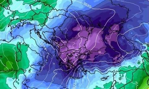 Καιρός: Κλειδώνει η έντονη ψυχρή εισβολή! Τα σενάρια των χιονοπτώσεων (video)