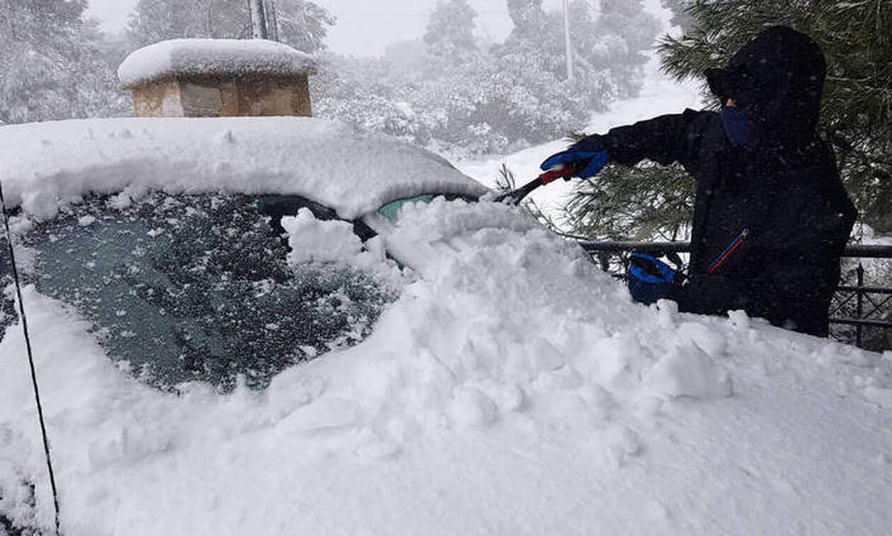 Καιρός: Η πρώτη εικόνα της ΕΜΥ για την ψυχρή εισβολή! «Πυκνές χιονοπτώσεις και σε χαμηλά υψόμετρα»