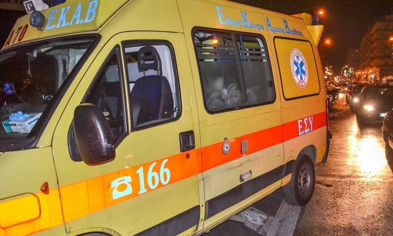 Ιπποκράτειος Πολιτεία: Ασυνείδητος οδηγός χτύπησε και εγκατέλειψε μοτοσυκλετιστή (vid)