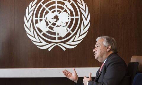 ΟΗΕ: Ο Γκουτέρες ζητεί τον τερματισμό των εχθροπραξιών στη βορειοδυτική Συρία
